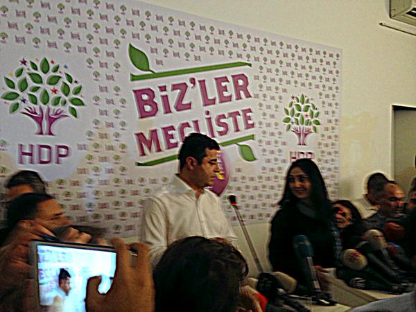 HDP: no coalition with AK Party