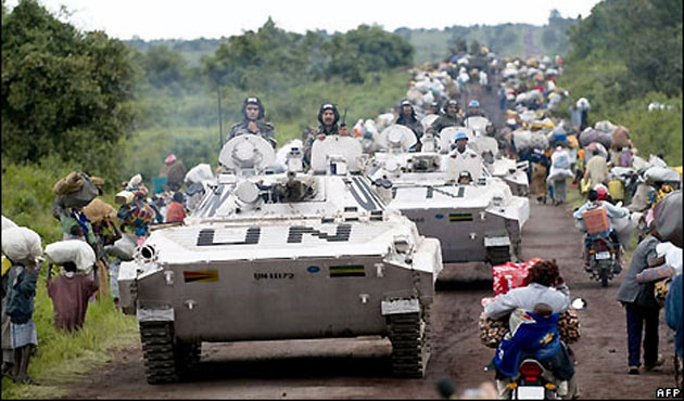 Europe faces sanctions call over DRC violence