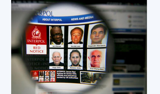Interpol suspends agreement with FIFA