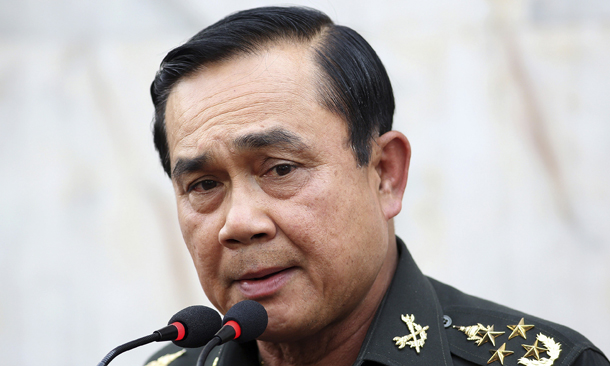 Thai PM denies counter-coup rumours