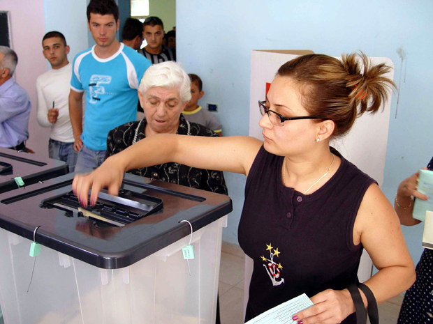 Voting ends in Albania local election