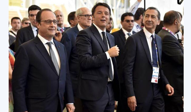 Italy has no tension with France over migrant crisis