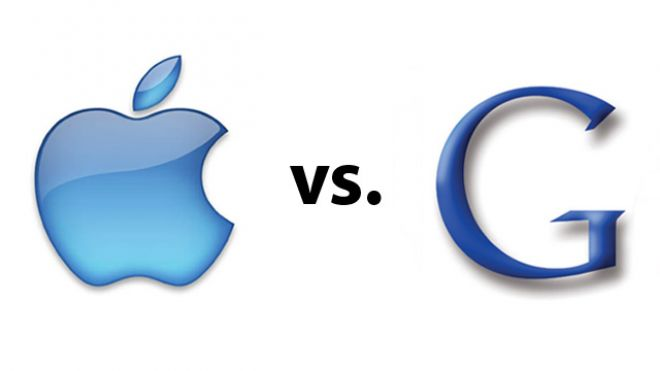 Competition between Google and Apple