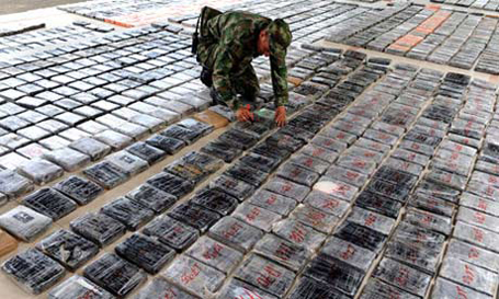 U.S. charges Colombia gang with drug trafficking