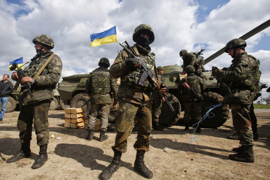 Ukraine vows to use 'entire arsenal' against pro-Russia rebels