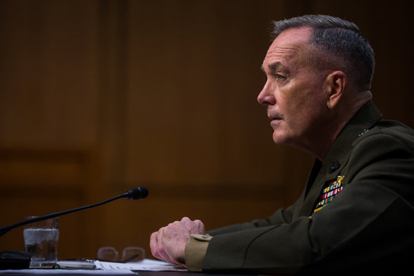 Top US military officer arrives in Turkey
