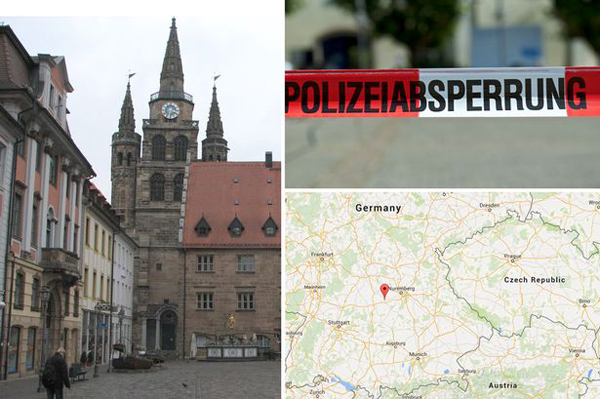 Drive-by shooting kills 2 in Germany