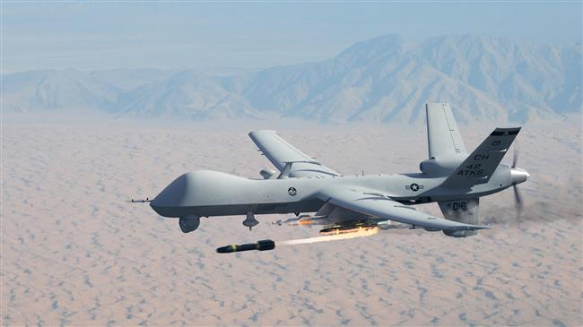 US deploys drones to Latvia to reassure against Russia