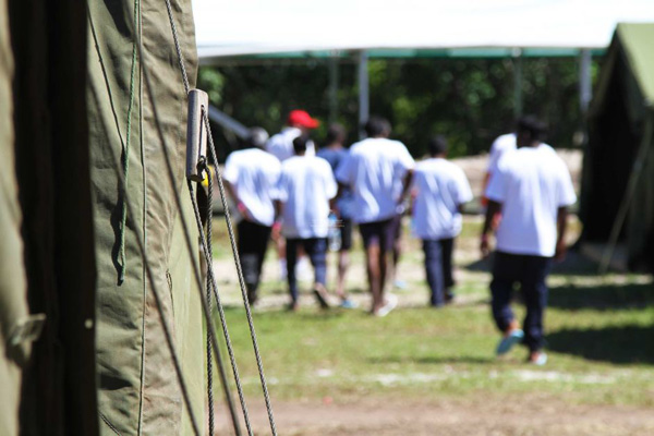 Rights groups slam Australian offshore detention policy