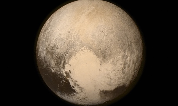 New Horizons finds frozen plains, icy mountains on Pluto