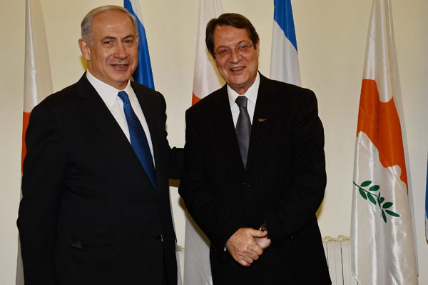 Israel, Cyprus to expand cooperation on energy issues