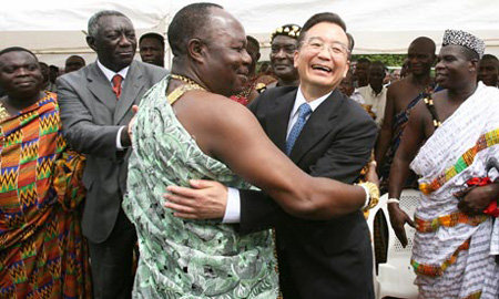 China holds sway in new 'scramble for Africa'