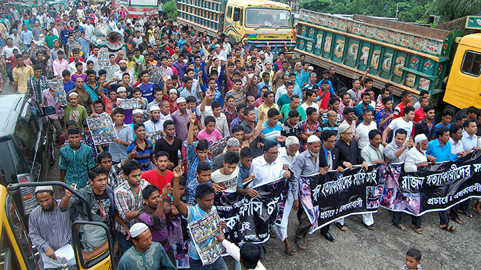 Protests in Bangladesh over latest child killing