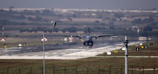 Turkey's Incirlik air base not used in Syria strikes