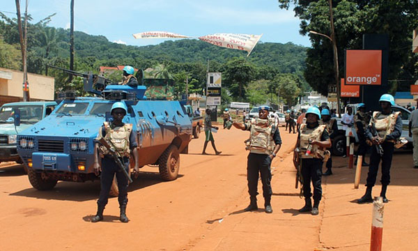 Five UN peacekeepers die in Central African Republic