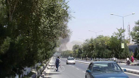 Powerful blast targets NATO convoy in Kabul