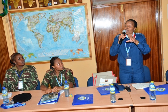 Kenya appoints first-ever female Muslim army brigadier