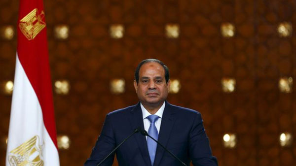 Egypt's Sisi first to congratulate Trump on US win