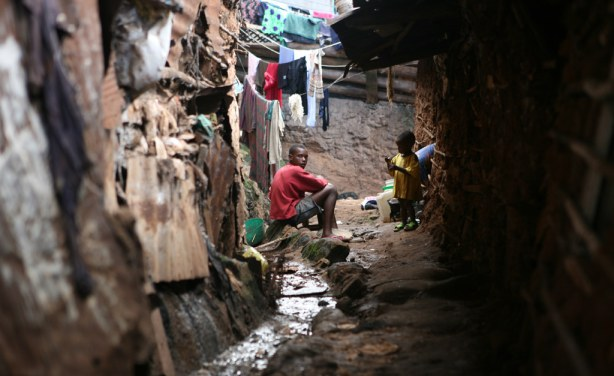 Hundreds forcibly evicted from Kenya's Mathare slum