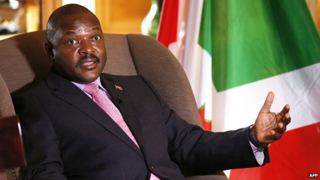 Burundi president appoints new cabinet