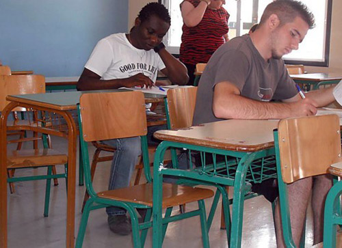 African refugee comes 1st in Greek uni exams
