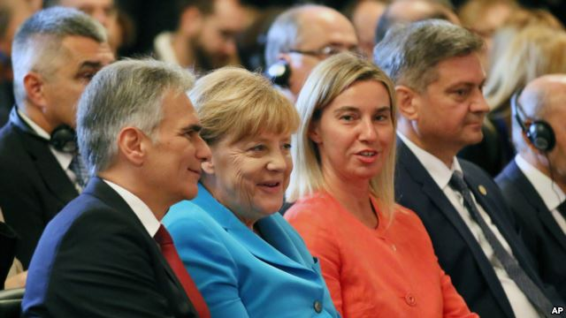 Merkel: migrants 'huge challenge' for western Balkans