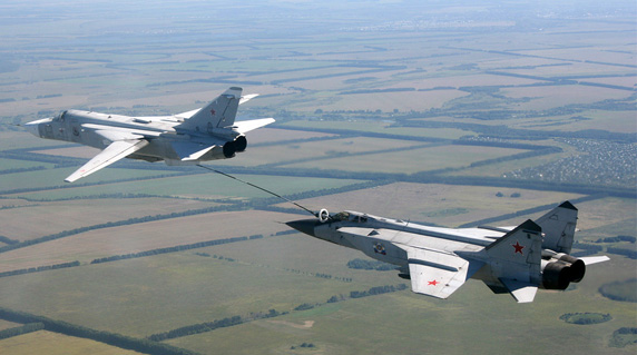 Russian jets set to combat in Syria