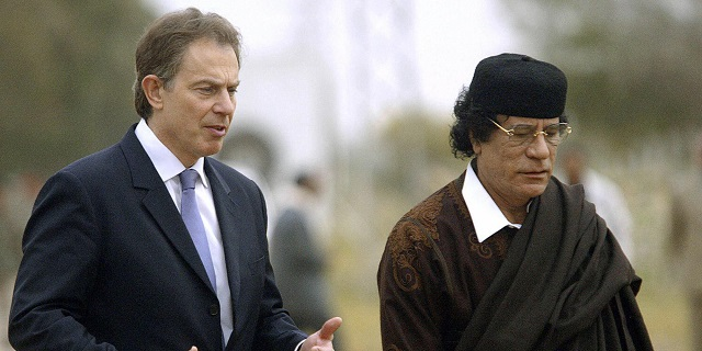 Tony Blair could be questioned for 'trying to save Gaddafi'