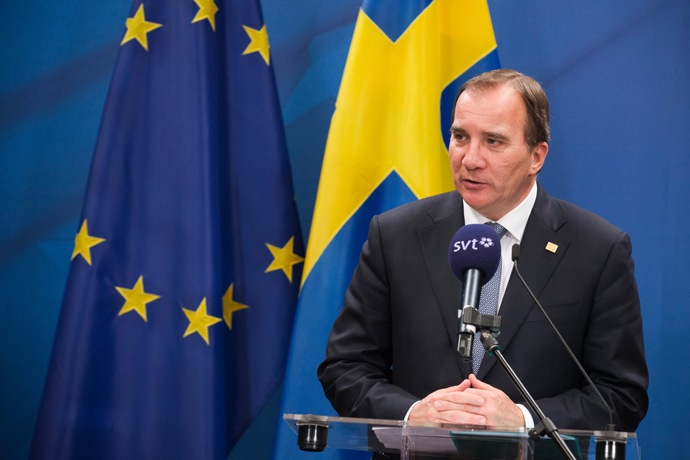 EU needs more legal ways in for refugees: Swedish PM