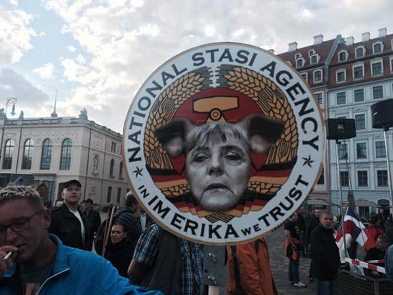 PEGIDA rears ugly head with refugee standoff