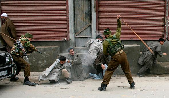 India 'covering up abuses' in Kashmir