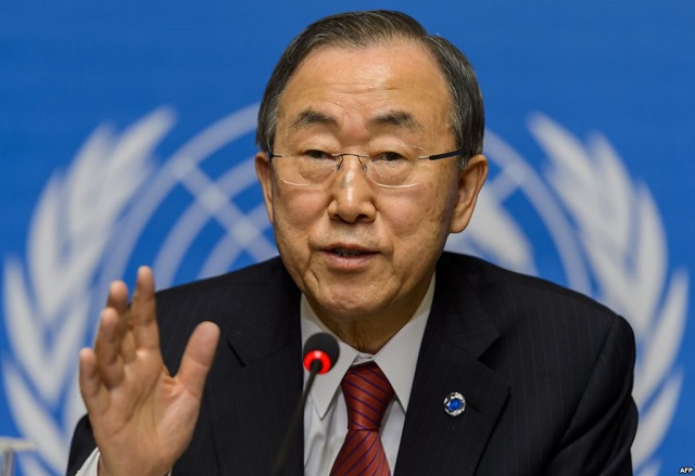 Ban Ki-moon urges EU to respect refugees' rights
