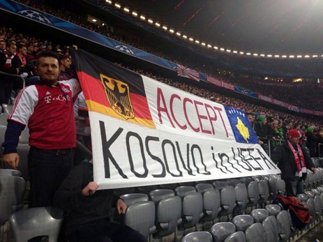 Kosovo to submit bid to join UEFA in 2016