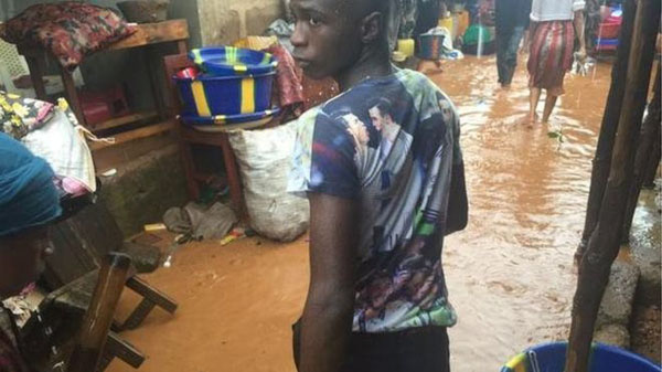 Sierra Leone flooding leaves hundreds displaced