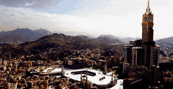 Two injured in Mecca landslide