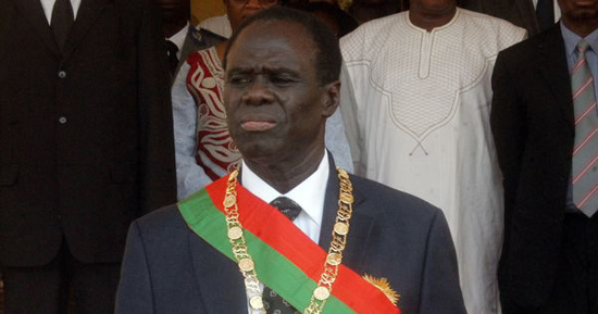 Burkina Faso's president returns to office after coup