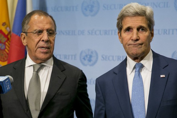 Kerry, Lavrov hold Syria talks