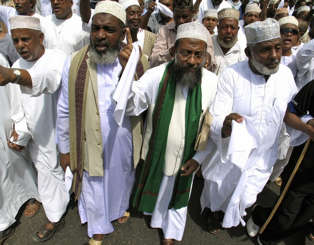 Muslim clerics detained in Kenya