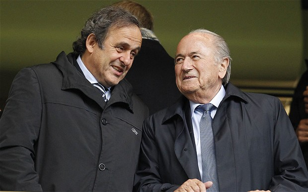 FIFA, UEFA presidents suspended for 90 days