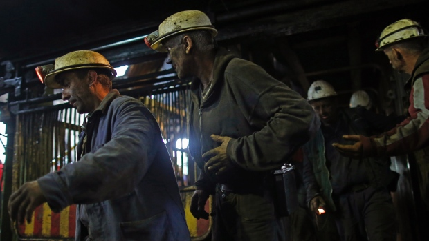 Kosovo and Serbia dispute once-mighty mining complex