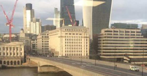 London bridge closed after suspect package