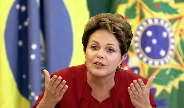 Rousseff vows to serve out term ahead of vote