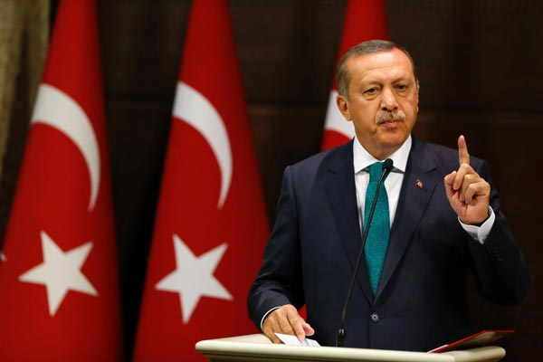 Turkish president calls for unity against terrorism