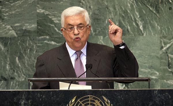 Palestinian president: Occupation is reason for violence