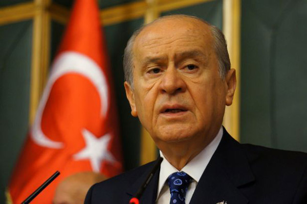 Referendum can settle Turkey's constitution debate: MHP