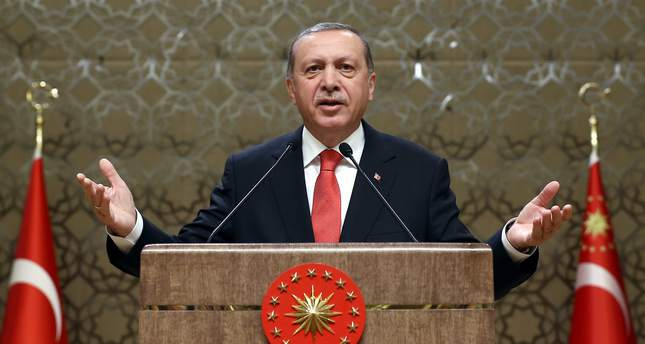 Turkey's Erdogan calls to exclude PYD, YPG from Syria truce