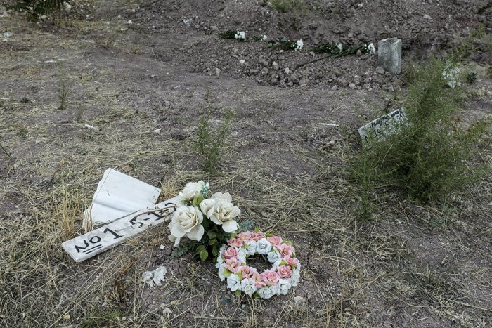 Greek island runs out of burial space for dead refugees