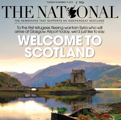 Scotland daily puts US Governors to shame