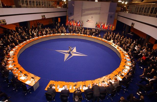 NATO foreign ministers meet to discuss Turkey support