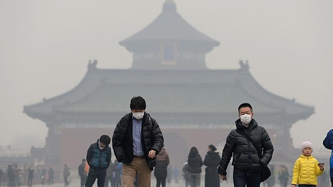 Beijing closes factories as smog hits record high